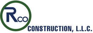 RCO Construction, LLC. General Contractors Sticky Logo