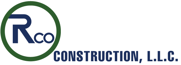 RCO Construction, LLC. General Contractors Retina Logo